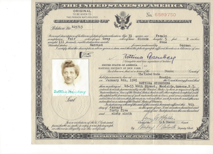 Bettina-Sternberg-naturalization
