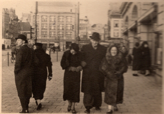 Bernhard Sternberg in Amsterdam after leaving Germany