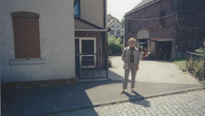 Carol Schoen at family home