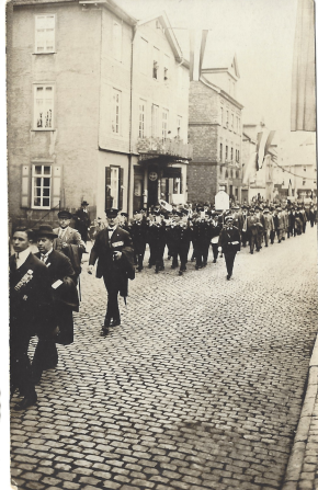 March in Herborn c1920s