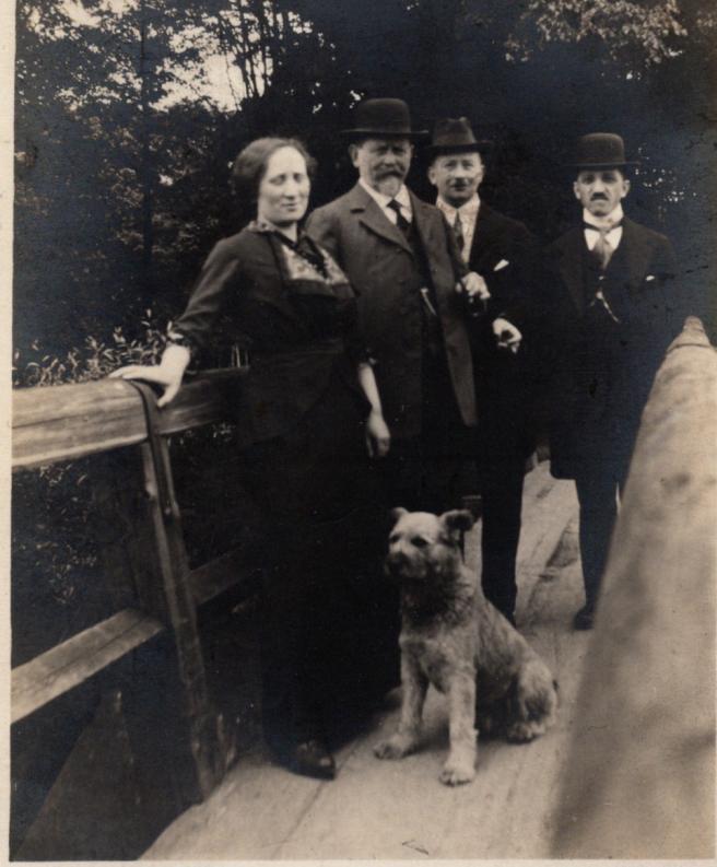 Ida, Lazarus, Adolph, and Max Sternberg. c1920