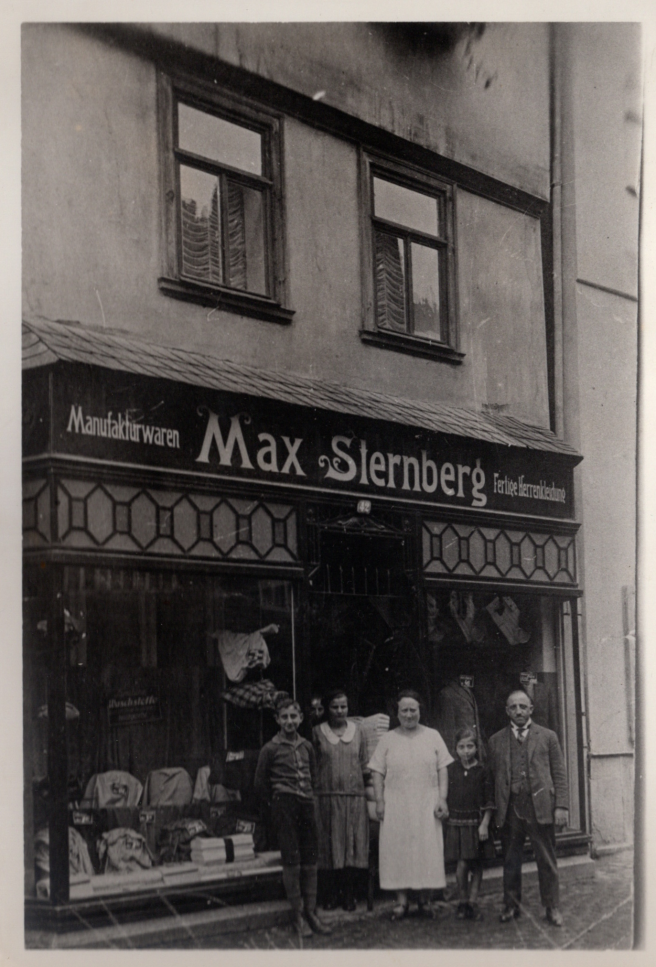 Max Sternbergs clothing shop c1920s