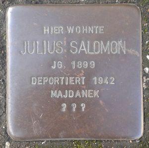 Stolperstein_Herborn_Austraße_12_Julius_Salomon