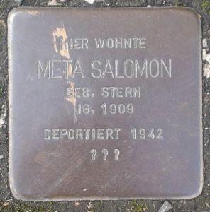 Stolperstein_Herborn_Austraße_12_Meta_Salomon