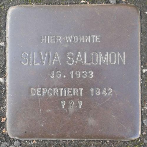 Stolperstein_Herborn_Austraße_12_Silvia_Salomon