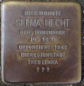 Stolpersteine_Herborn_Hauptstraße_80_Selma_Hecht